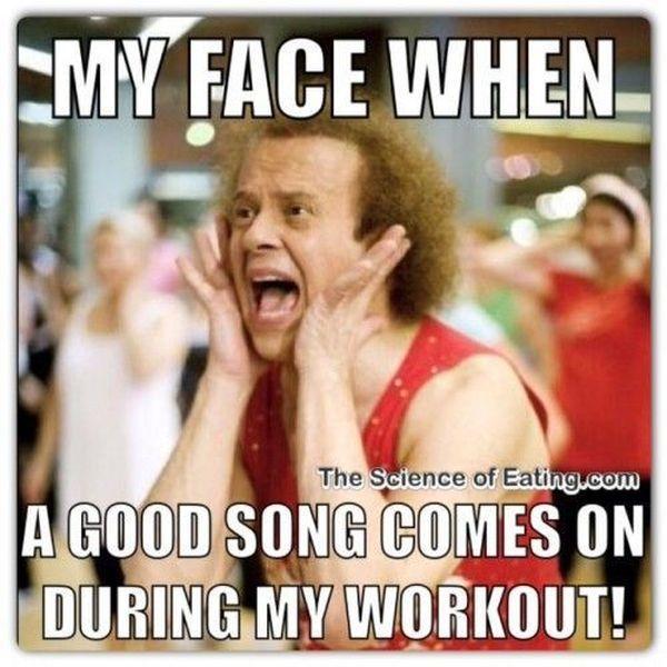 Saturday Workout Meme 2