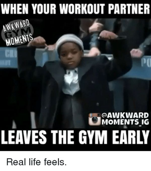 Workout Partner Meme About Your Gym Relationship 1