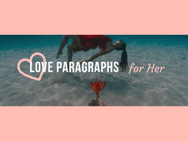 Paragraph girl a sweet for 30 Touching