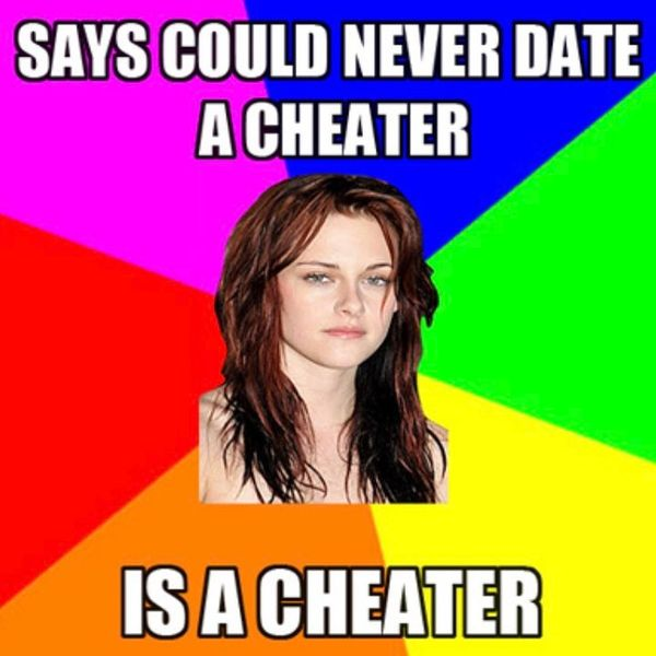Says Could Never Date a Cheater...