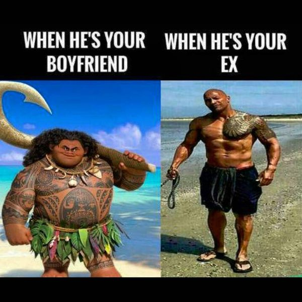 When He`s Your Boyfriend. When He`s Your Ex.