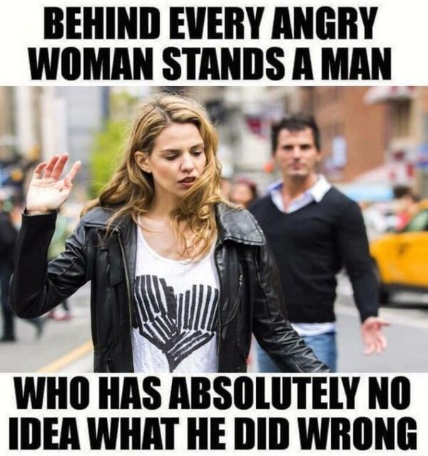 Startling Funny angry person meme