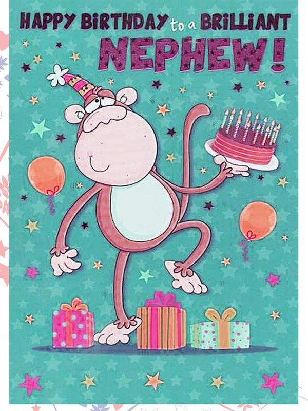 Affe Festliche alles Gute zum Geburtstag Neffe Bilder