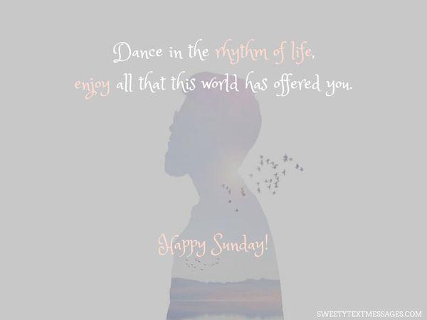 Happy Sunday Quotes 1