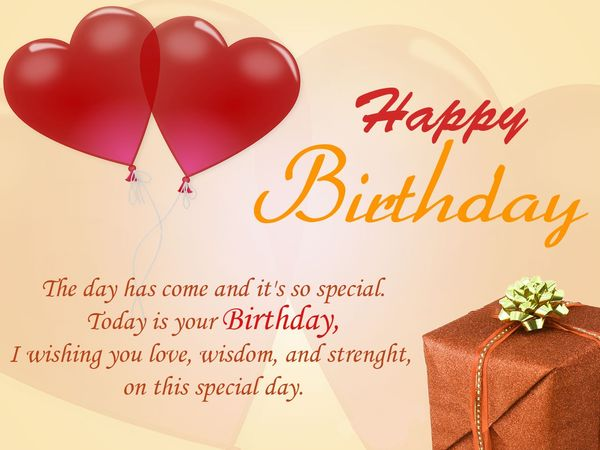 Happy birthday encouraging words