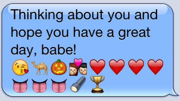 Sweet Paragraphs with Emojis for Him to Wake up to