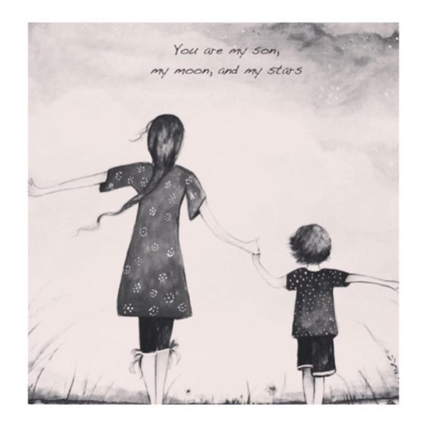 Smooth Inspirational Mom and Son Quotes