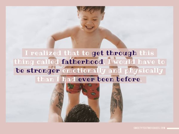 Awesome quotes about father and son bond