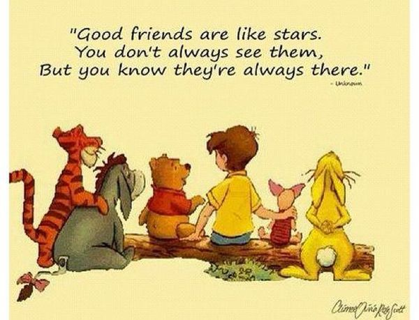 Cartoon Heartwarming Quotes about Friendship and Love