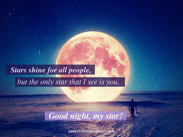 Sweet Good Night Text Messages for Her from the Heart 2